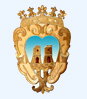 Coat of arms of town hall of Castel Baronia
